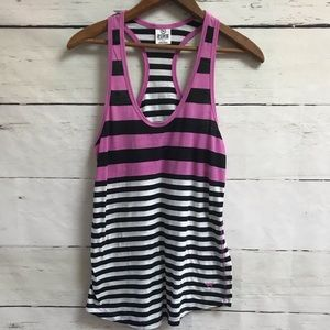 Victoria's Secret PINK striped racerback size S
